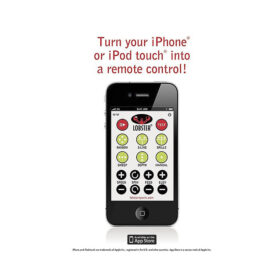 Lobster iPhone Remote Control Assembly